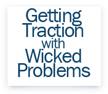 Getting Track with Wicked Problems label