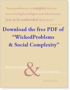 Wicked Problems & Social Complexity